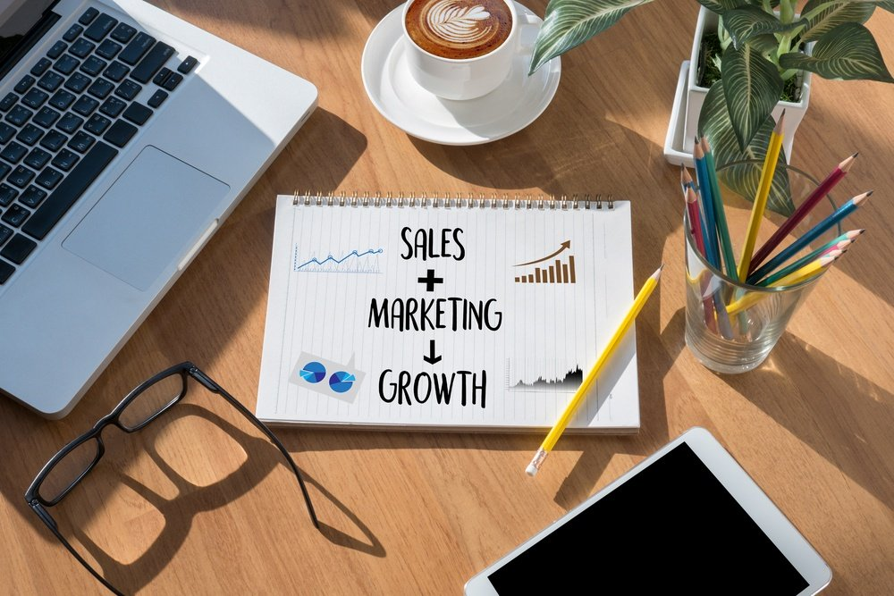 Future Sales - It's mixed with marketing